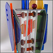Sculptural glass